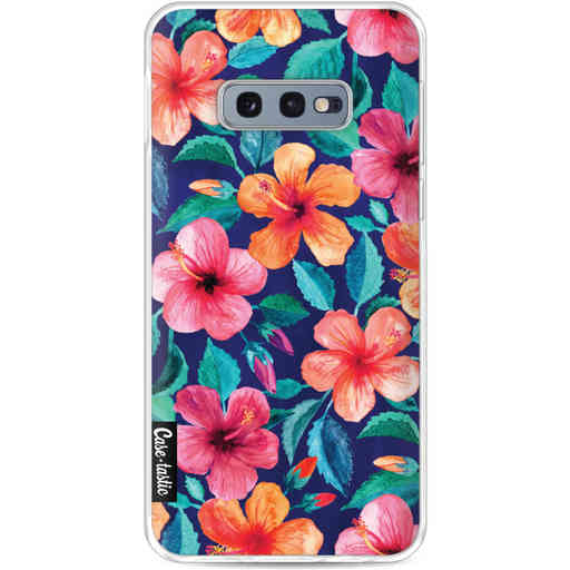 Casetastic Softcover Samsung Galaxy S10e - Colorful Hibiscus