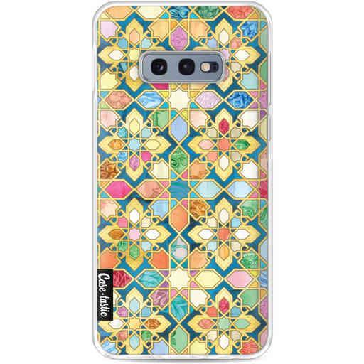 Casetastic Softcover Samsung Galaxy S10e - Gilded Moroccan Mosaic Tiles