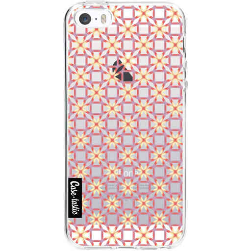 Casetastic Softcover Apple iPhone 5 / 5s / SE - Geometric Lines Sweet