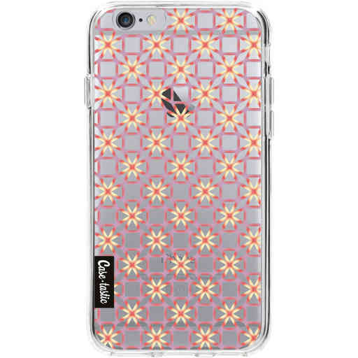 Casetastic Softcover Apple iPhone 6 / 6s - Geometric Lines Sweet