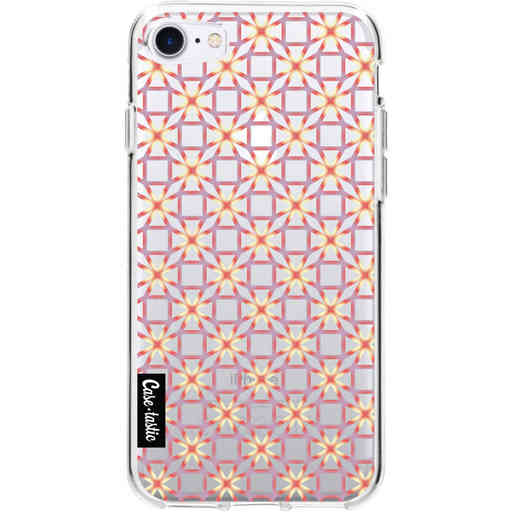 Casetastic Softcover Apple iPhone 7 / 8 / SE (2020) - Geometric Lines Sweet