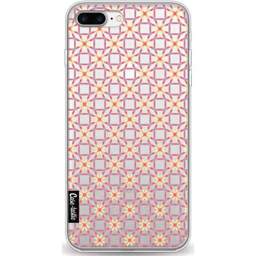 Casetastic Softcover Apple iPhone 7 Plus / 8 Plus - Geometric Lines Sweet