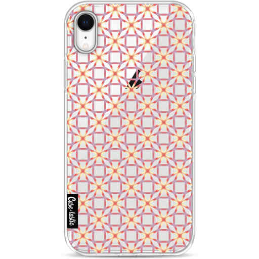 Casetastic Softcover Apple iPhone XR - Geometric Lines Sweet