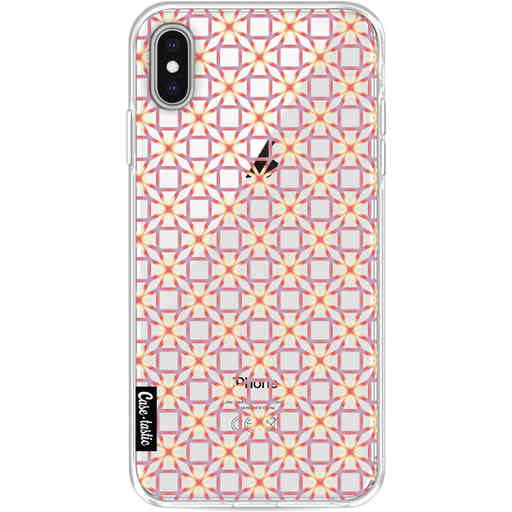 Casetastic Softcover Apple iPhone XS Max - Geometric Lines Sweet