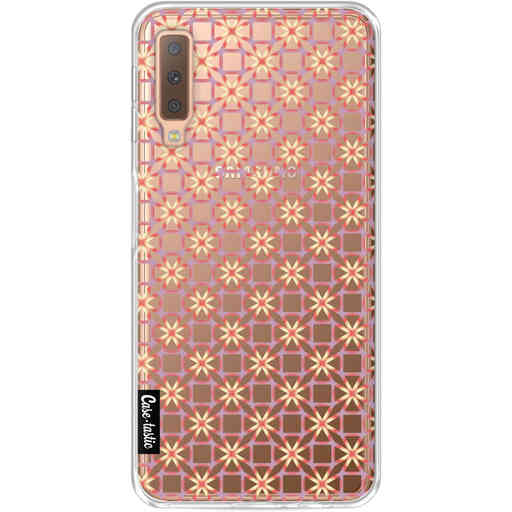 Casetastic Softcover Samsung Galaxy A7 (2018) - Geometric Lines Sweet