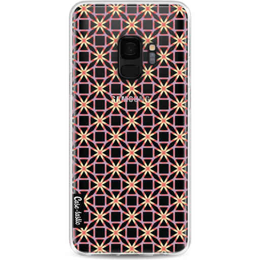 Casetastic Softcover Samsung Galaxy S9 - Geometric Lines Sweet