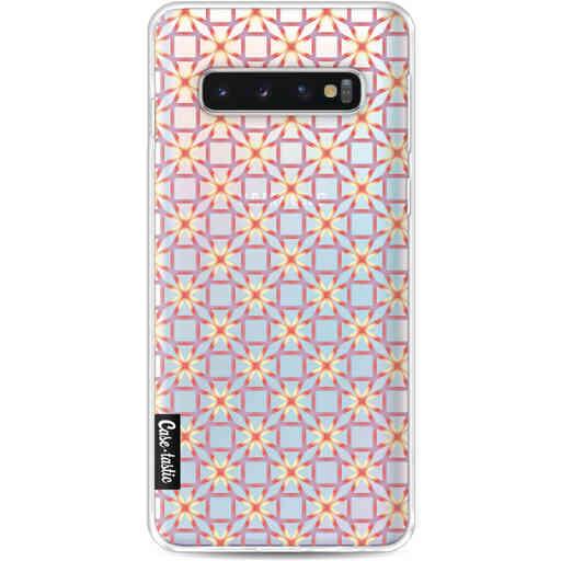Casetastic Softcover Samsung Galaxy S10 - Geometric Lines Sweet