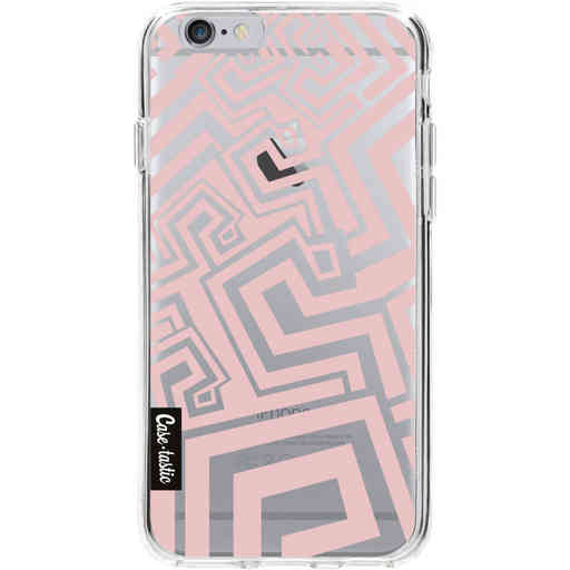 Casetastic Softcover Apple iPhone 6 / 6s - Abstract Pink Wave