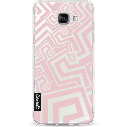 Casetastic Softcover Samsung Galaxy A5 (2016) - Abstract Pink Wave