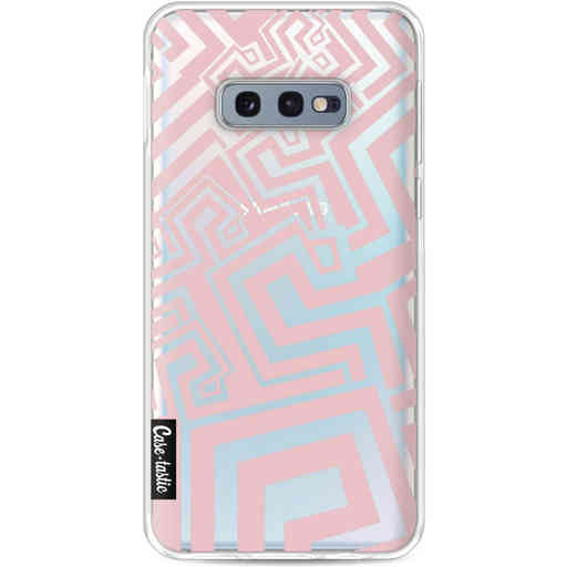 Casetastic Softcover Samsung Galaxy S10e - Abstract Pink Wave