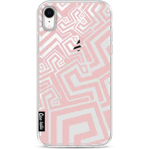 Casetastic Softcover Apple iPhone XR - Abstract Pink Wave