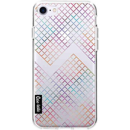 Casetastic Softcover Apple iPhone 7 / 8 / SE (2020) - Rainbow Squares