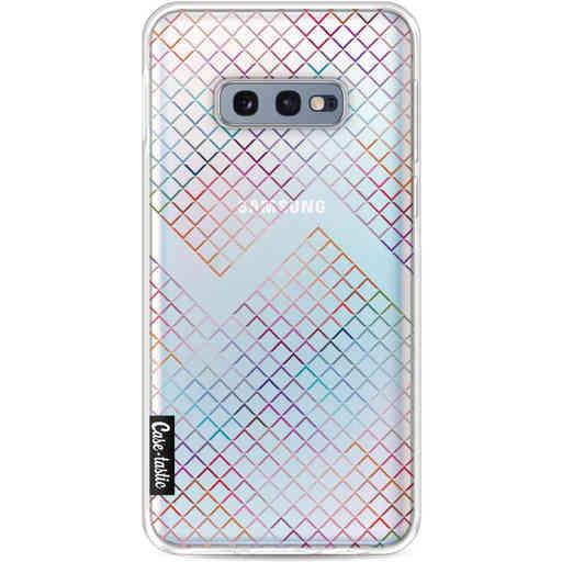 Casetastic Softcover Samsung Galaxy S10e - Rainbow Squares