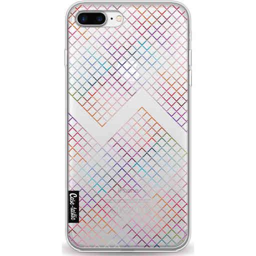 Casetastic Softcover Apple iPhone 7 Plus / 8 Plus - Rainbow Squares