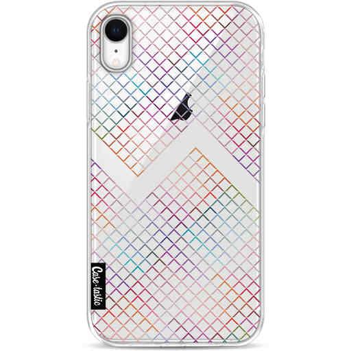 Casetastic Softcover Apple iPhone XR - Rainbow Squares