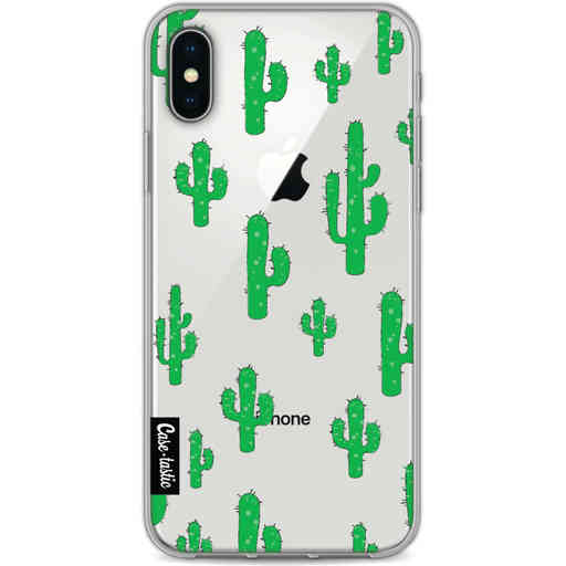 Casetastic Softcover Apple iPhone X / XS - American Cactus Green