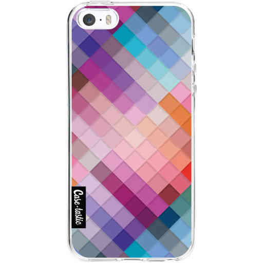 Casetastic Softcover Apple iPhone 5 / 5s / SE - Seamless Cubes