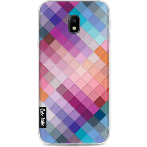 Casetastic Softcover Samsung Galaxy J3 (2017)  - Seamless Cubes