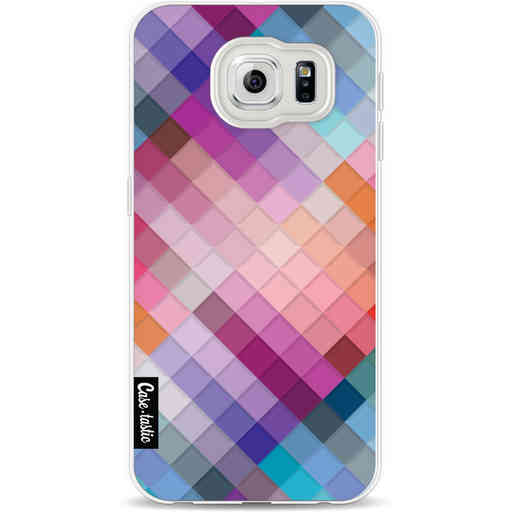 Casetastic Softcover Samsung Galaxy S6 - Seamless Cubes