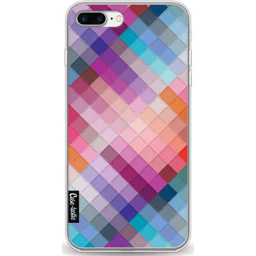 Casetastic Softcover Apple iPhone 7 Plus / 8 Plus - Seamless Cubes