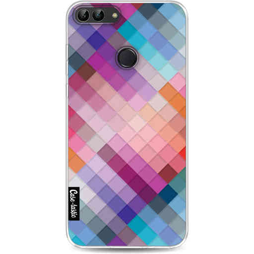Casetastic Softcover Huawei P Smart - Seamless Cubes