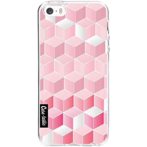 Casetastic Softcover Apple iPhone 5 / 5s / SE - Cubes Vibe