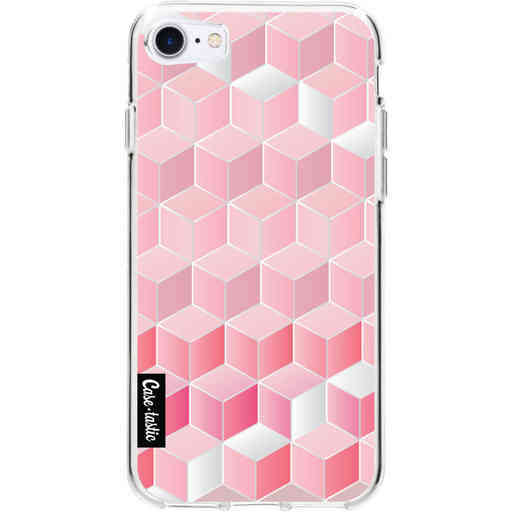 Casetastic Softcover Apple iPhone 7 / 8 / SE (2020) - Cubes Vibe