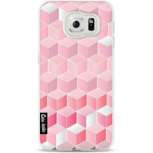 Casetastic Softcover Samsung Galaxy S6 - Cubes Vibe