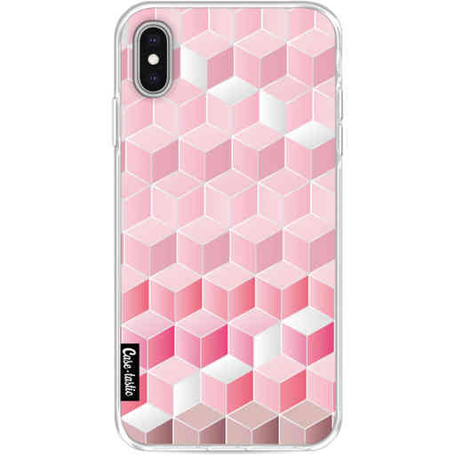 Casetastic Softcover Apple iPhone XS Max - Cubes Vibe