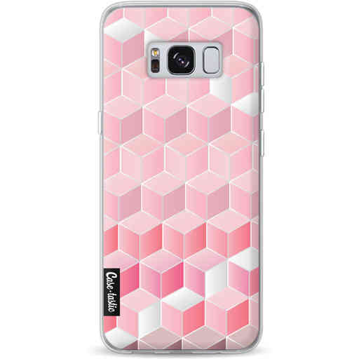 Casetastic Softcover Samsung Galaxy S8 - Cubes Vibe