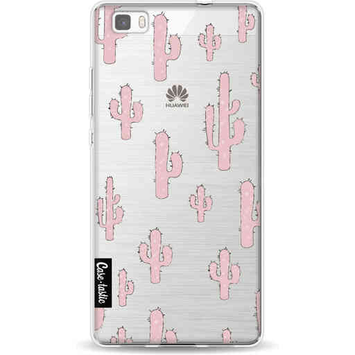 Casetastic Softcover Huawei P8 Lite (2015) - American Cactus Pink