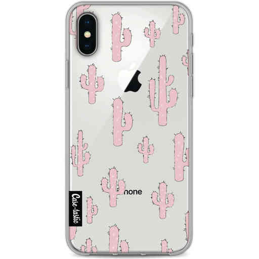 Casetastic Softcover Apple iPhone X / XS - American Cactus Pink