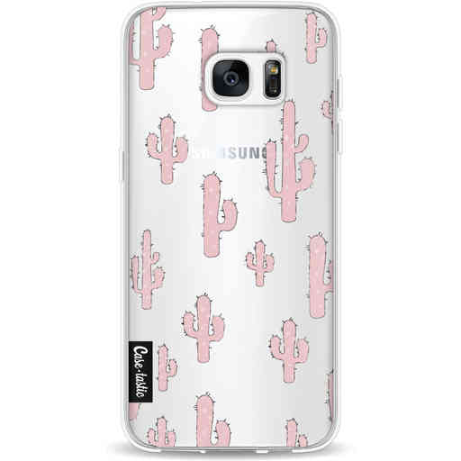 Casetastic Softcover Samsung Galaxy S7 Edge - American Cactus Pink