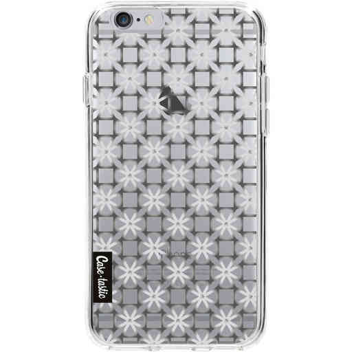 Casetastic Softcover Apple iPhone 6 / 6s - Geometric Lines Silver
