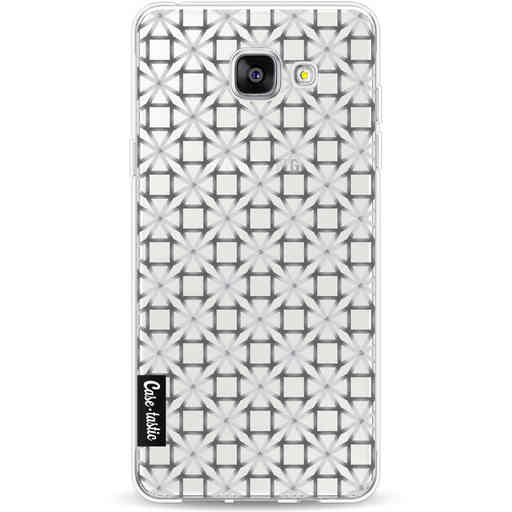 Casetastic Softcover Samsung Galaxy A5 (2016) - Geometric Lines Silver