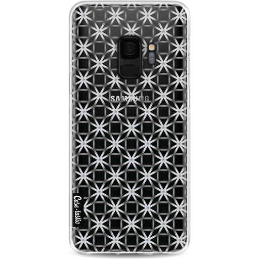 Casetastic Softcover Samsung Galaxy S9 - Geometric Lines Silver