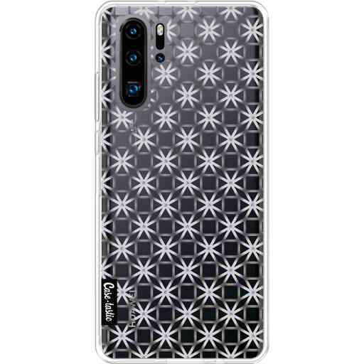 Casetastic Softcover Huawei P30 PRO - Geometric Lines Silver