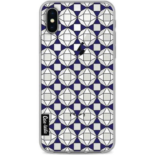 Casetastic Softcover Apple iPhone X / XS - Castelo Tile