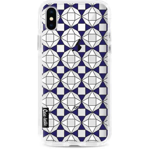 Casetastic Dual Snap Case Apple iPhone X / XS - Castelo Tile