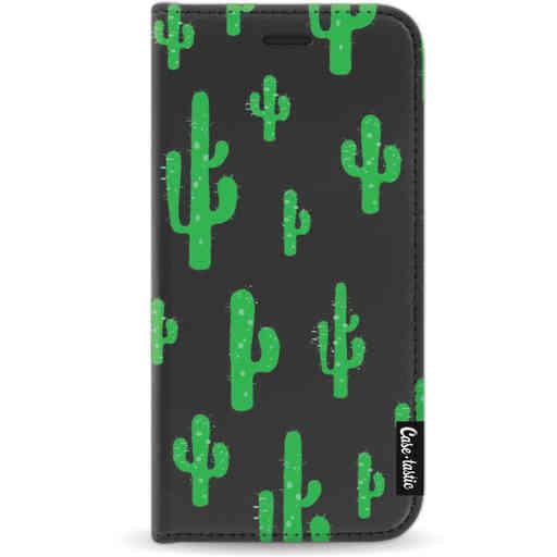 Casetastic Wallet Case Black Apple iPhone X / XS - American Cactus Green