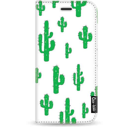 Casetastic Wallet Case White Apple iPhone X / XS - American Cactus Green