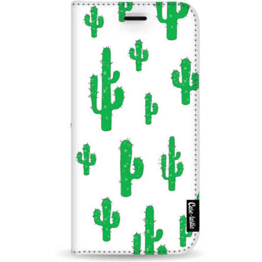 Casetastic Wallet Case White Samsung Galaxy Note 8 - American Cactus Green