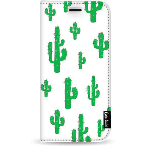Casetastic Wallet Case White Samsung Galaxy A9 (2018) - American Cactus Green