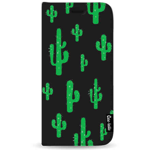 Casetastic Wallet Case Black Samsung Galaxy A9 (2018) - American Cactus Green