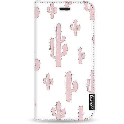 Casetastic Wallet Case White Apple iPhone X / XS - American Cactus Pink
