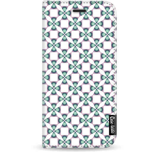 Casetastic Wallet Case White Apple iPhone X / XS - Clover