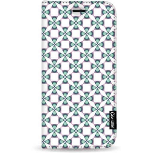 Casetastic Wallet Case White Samsung Galaxy A7 (2018) - Clover