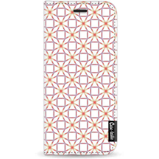Casetastic Wallet Case White Samsung Galaxy S9 - Geometric Lines Sweet