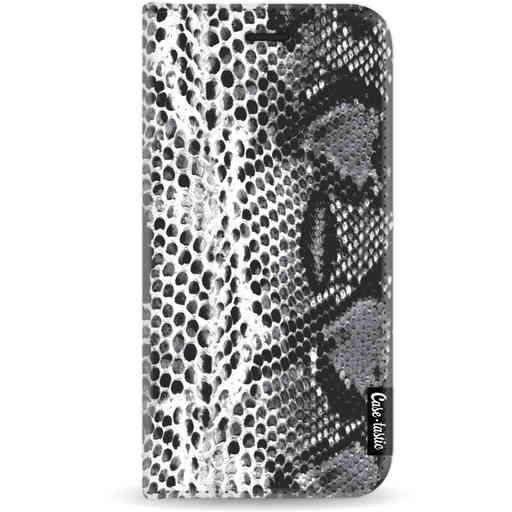 Casetastic Wallet Case White Apple iPhone X / XS - Snake