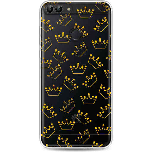 Casetastic Softcover Huawei P Smart - The Crown